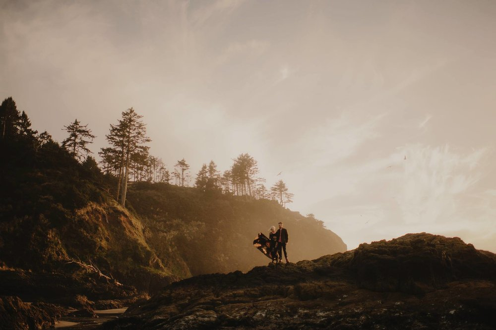 Washington Coast Engagement Photographer