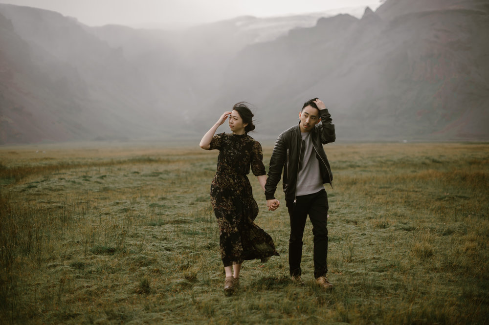 Iceland Engagement Photographer