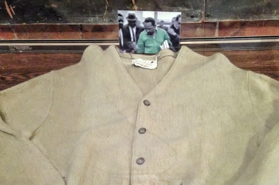 MLK's Famous Green Sweater