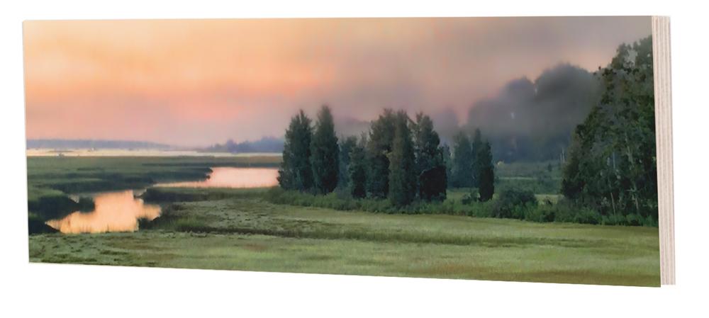 Rosy Marsh Dawn