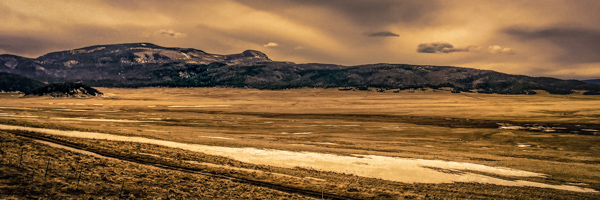 Valles Caldera - a 13 miles long meadow that sits on top of a super volcano that last erupted 50,000 years ago.