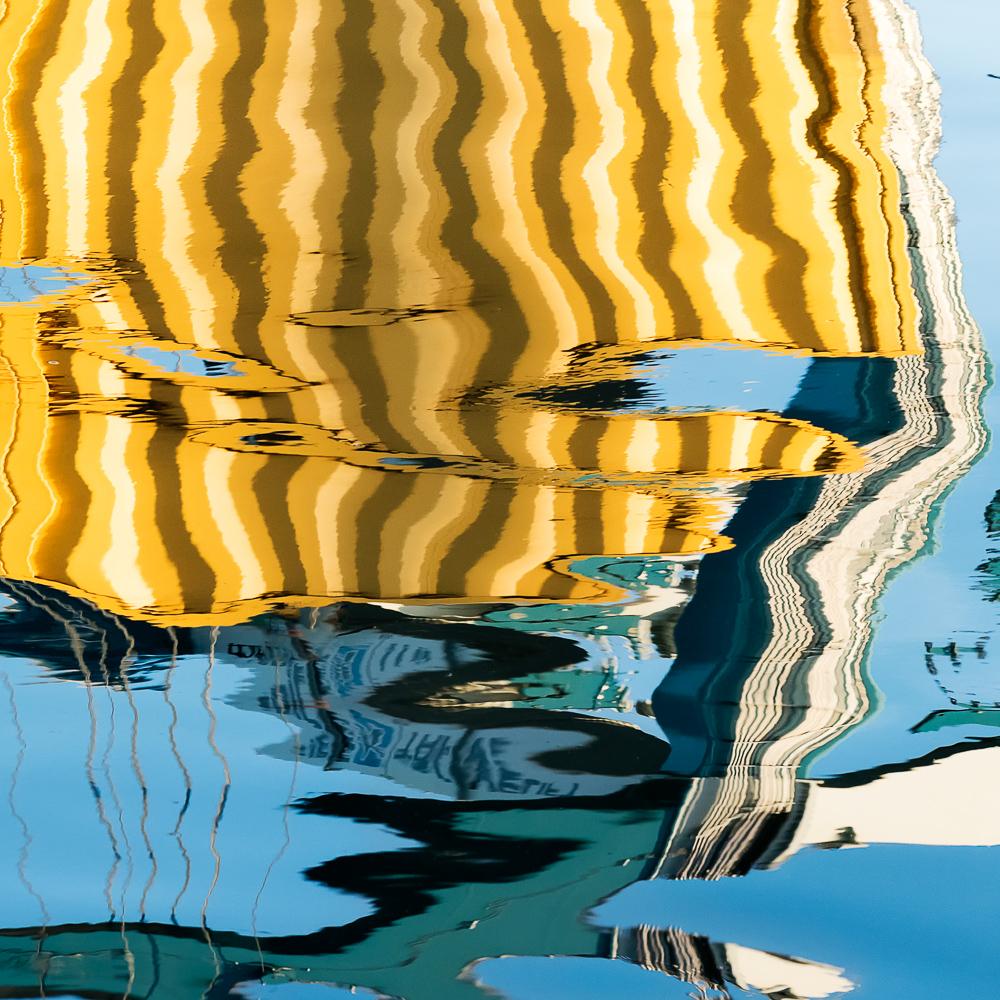 Crane Reflections