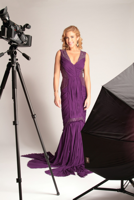 Michelle Smoller purple dress glamourous smile.jpg