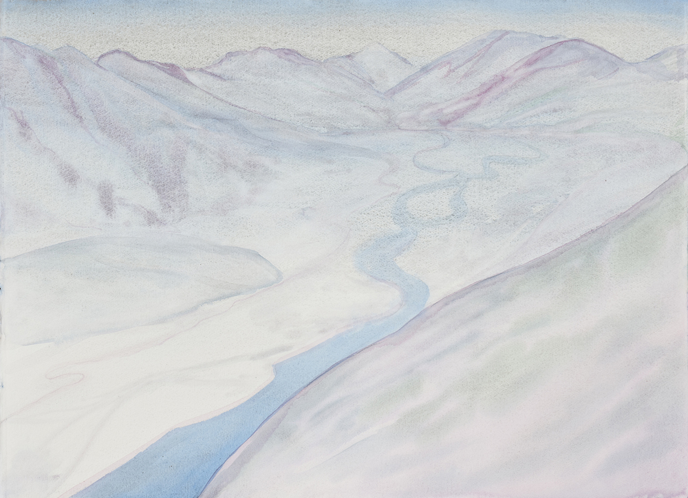 Flowing River (blue)