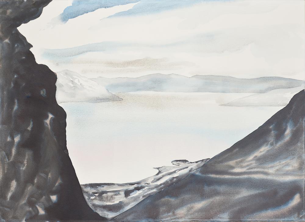Toward the Sea  (black)
