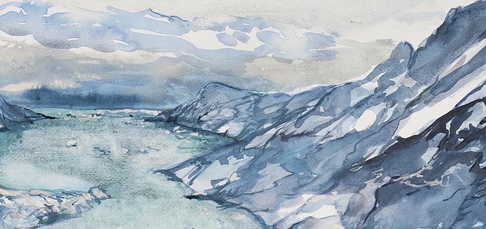 Turquoise Glacier (detail)