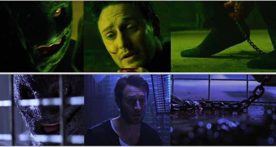 "The top row of screenshots is from ""The Collector.""  The bottom row is from ""The Collection."""