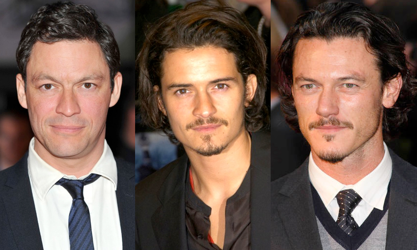 Dominic West + Orlando Bloom = Luke Evans?