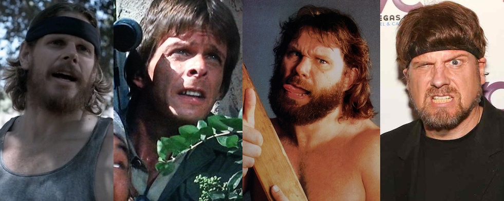 Trevor Torseth = Marc Singer + Hacksaw Jim Duggan's beard + Amazing Jonathan's headband?