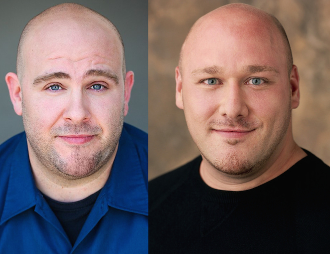 "Dave Levine of ""Absentia"" and Will Sasso: Separated at birth?"