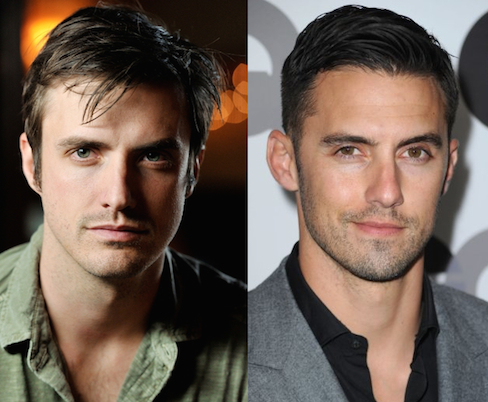 Actors C.J. Thomason and Milo Ventimiglia: separated at birth?