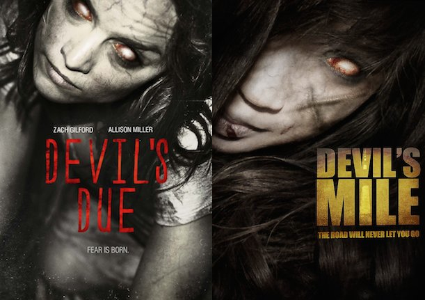 """Devil's Mile"" borrows from more than just the ""Devil's Due"" poster."