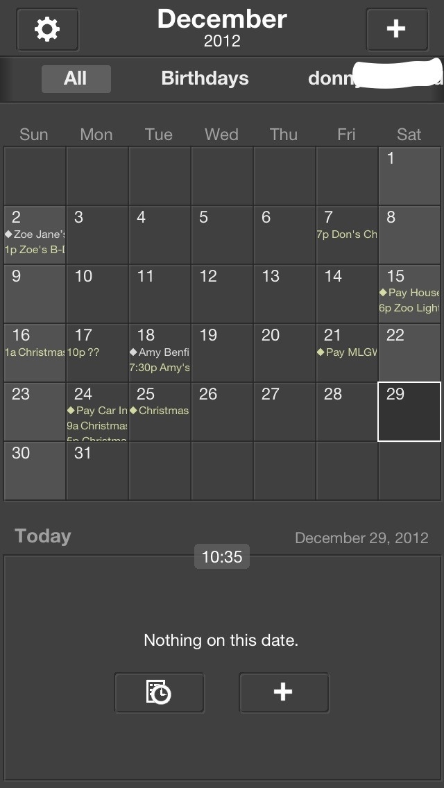 iPhonaddict Reviews: The Grid - Calendar by Birdsoft LLC