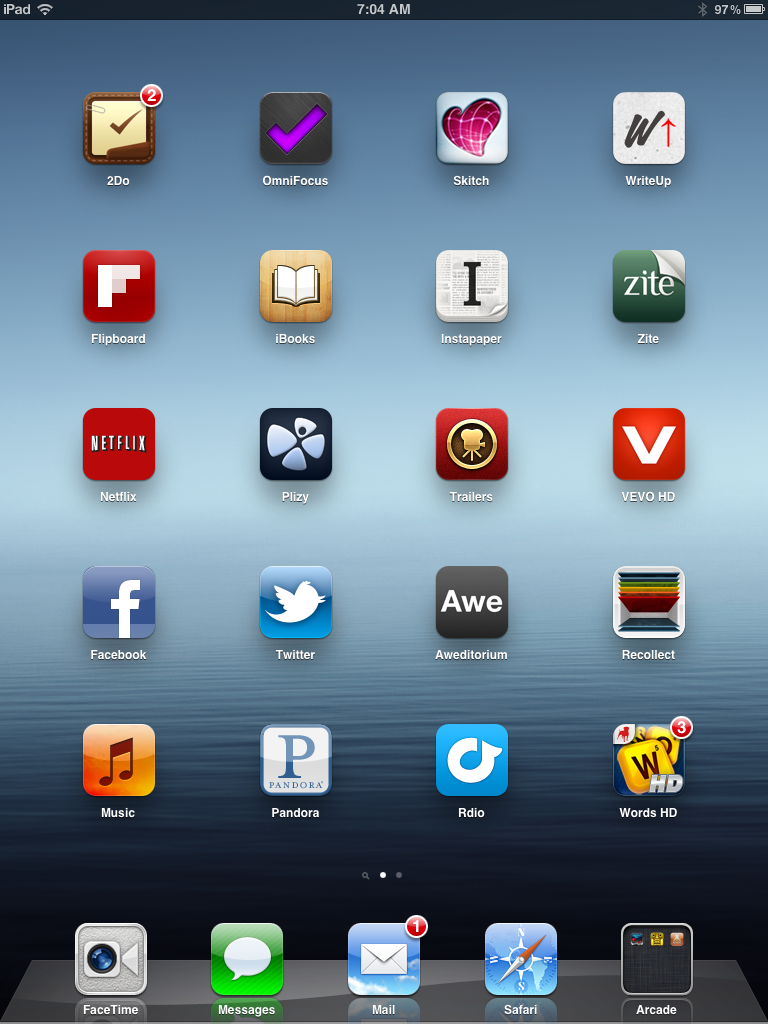 i-Device Dilemma: Making Sense of Home Screens