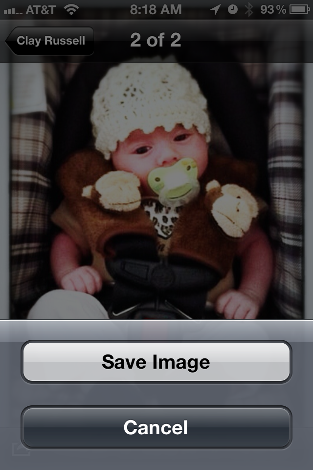 iPhonaddict Quick Tip: Copying a Photo From an Album to Your Camera Roll