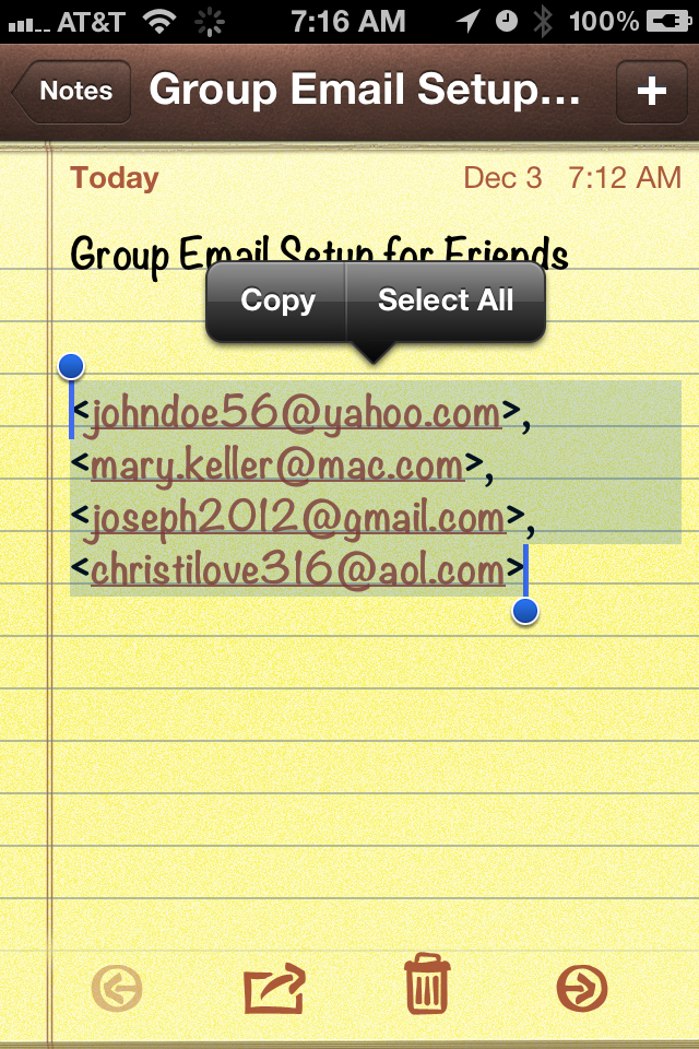 iPhonaddict Quick Tip: How to Send Group Emails on iOS