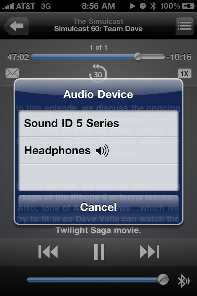 Review: The Sound 510 Bluetooth Headset Part 2: Special Features & iPhone Companion App