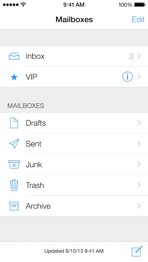 Mail  - Super clean and very minimal
