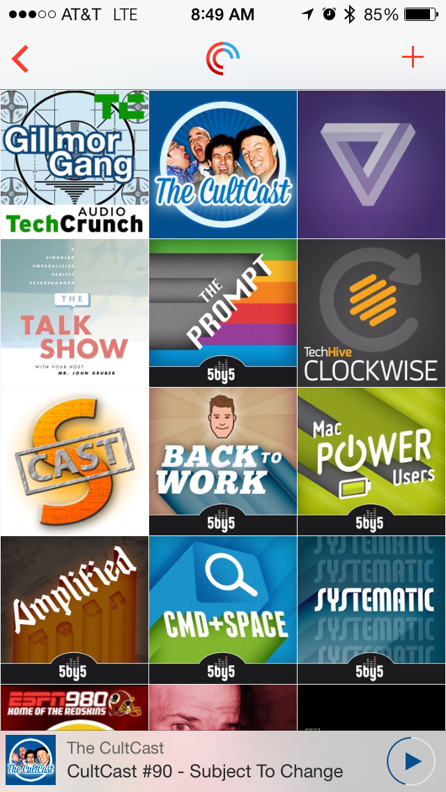 Podcast Grid