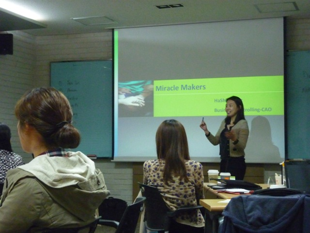 Bayer Healthcare Presentation Seminar October 2011