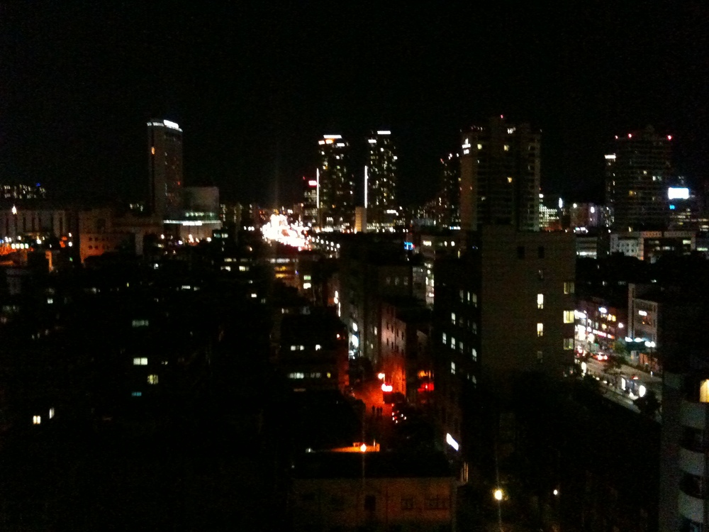 Amazing night views from Seoul.