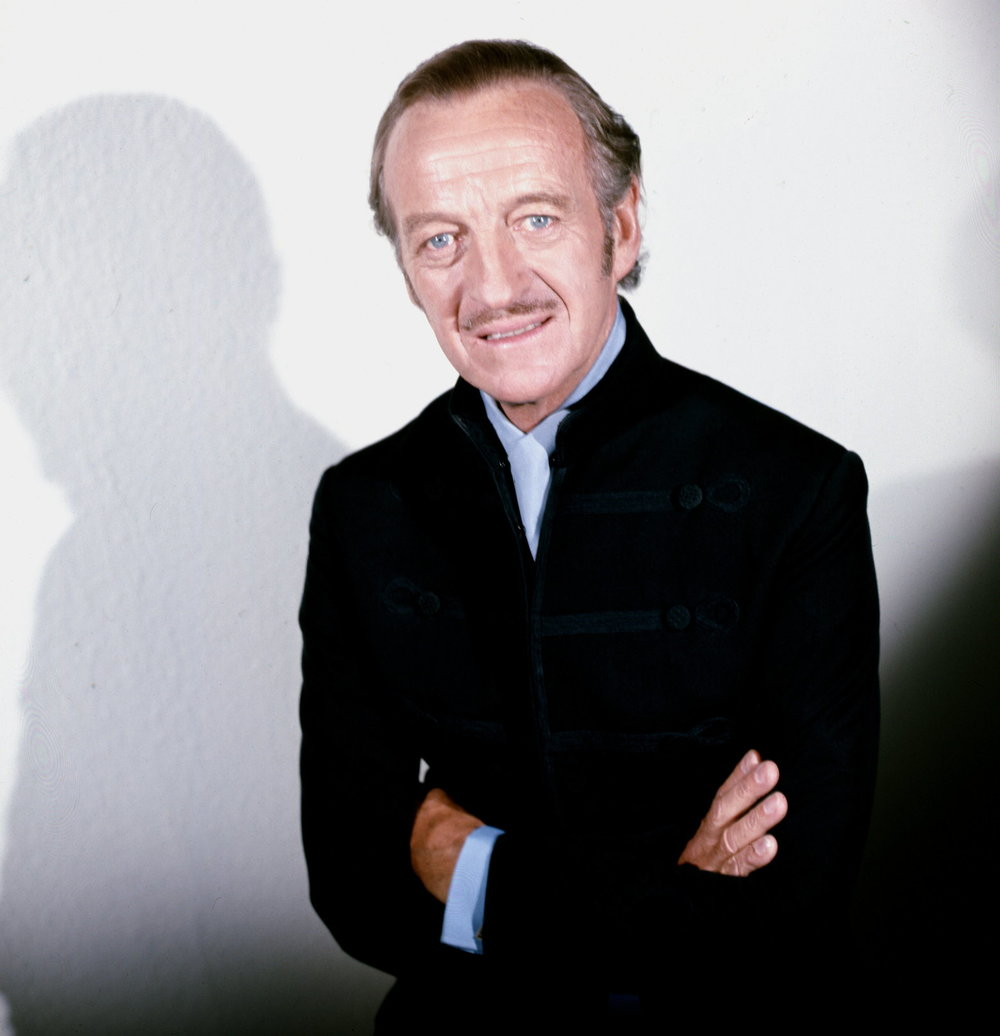 The late  David Niven . A true English Gentleman