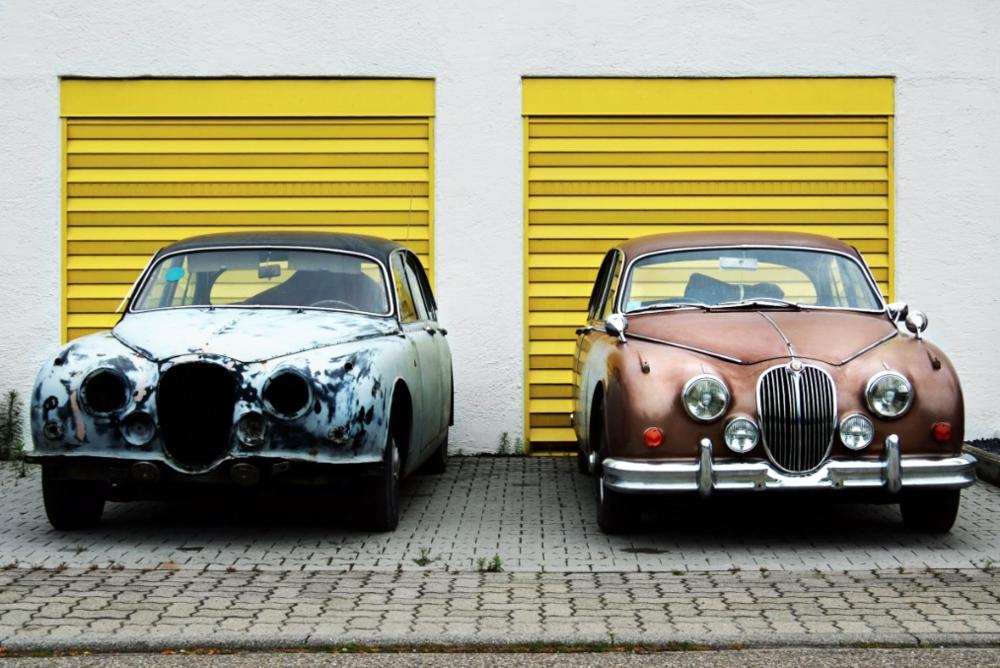 A restored Jaguar Mk 2