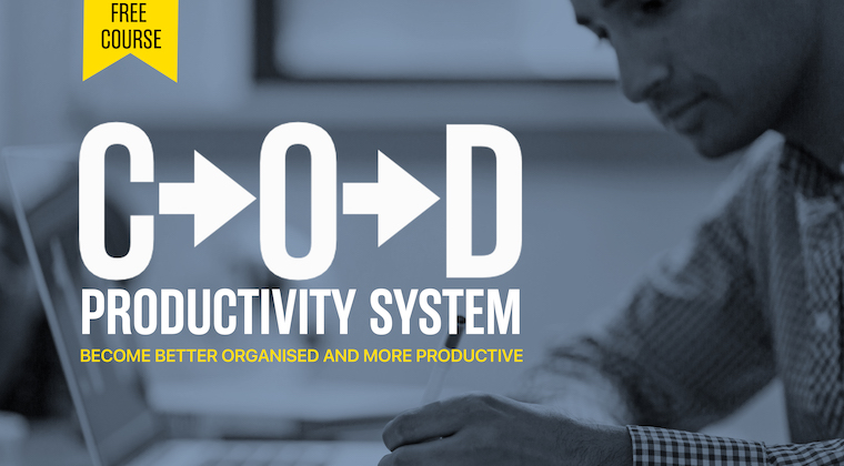 Build Your Own Productivity System - This FREE course will take you, step by step, through the process of building a productivity system that works for you.