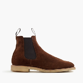 Alfred Sargent™ for J.Crew suede chelsea boots