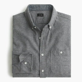 elbow-partch cotton-wool shirt in solid
