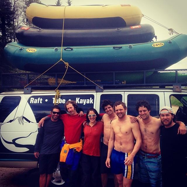 The EME Team takes their first team rafting trip of the season!