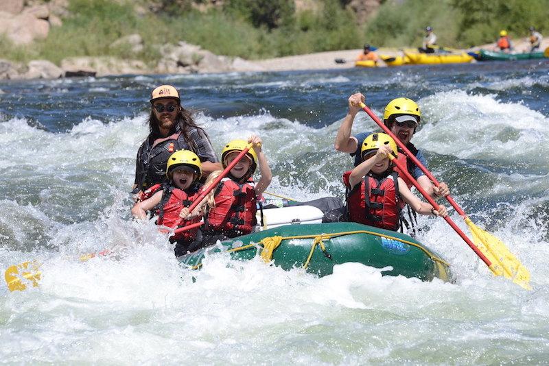 August Class III Rafting