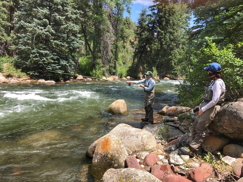 Roaring Fork River 7/8/17, photo: Brady McNeill