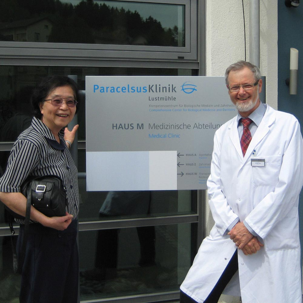 Dr Cole and Dr T Rao in Germany