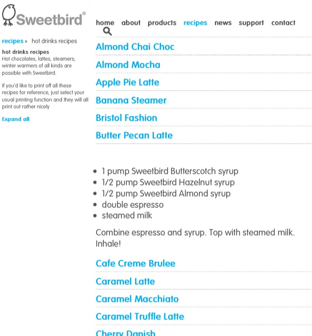 Sweetbird Syrups Turn You into a Home Barista