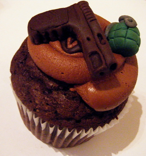 Gun Buns- For the Killing Enthusiast in your Life's Birthday