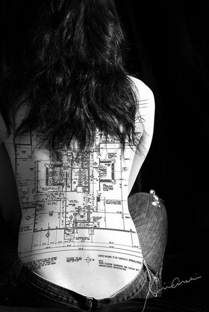 13 Thrilling Architecture Themed Tattoos