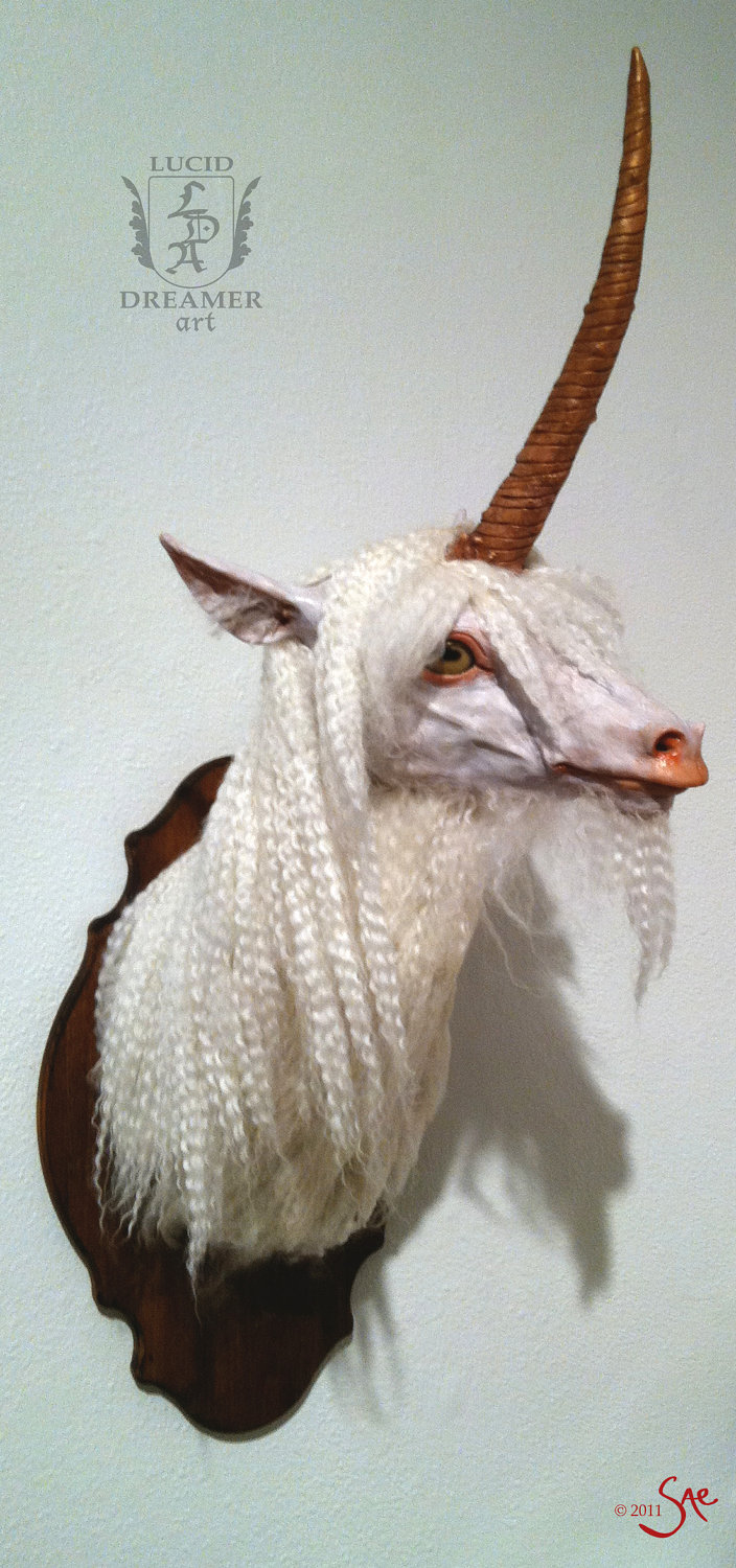 Saturday Night Unicorn Taxidermy