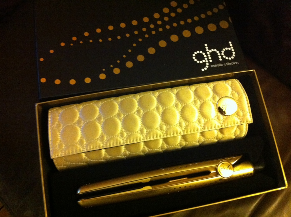 My Kitschalicious New Gold GHD Hair Straighteners
