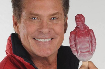 The Hoffsicle, and Other Totally Weird David Hasselhoff Merchandise on the World Wide Web
