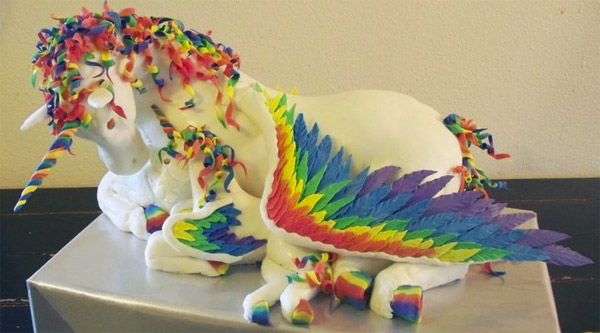 Horse in Your Burger? Cheer Yourself Up with these Unicorns in your Cake