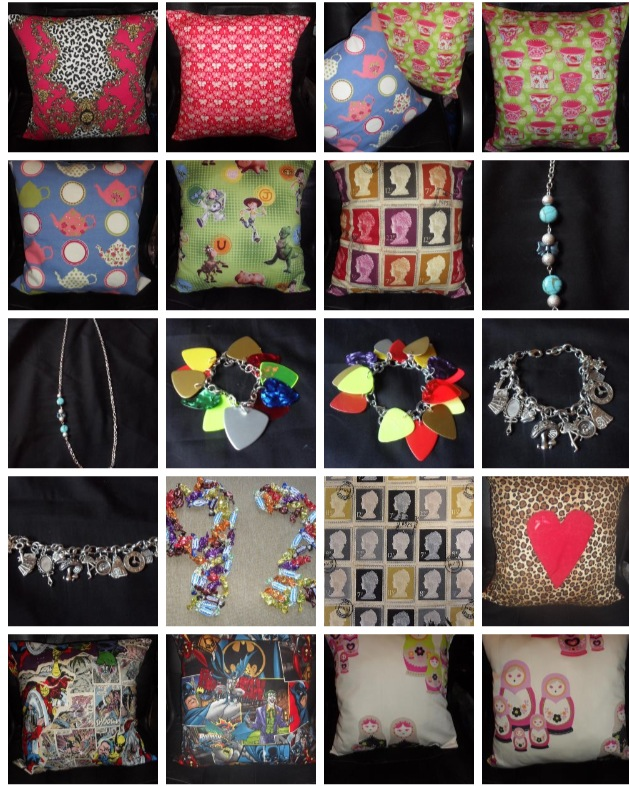 Handmade with Love- Trinkets from Old Skool Retro Kitsch Boutique