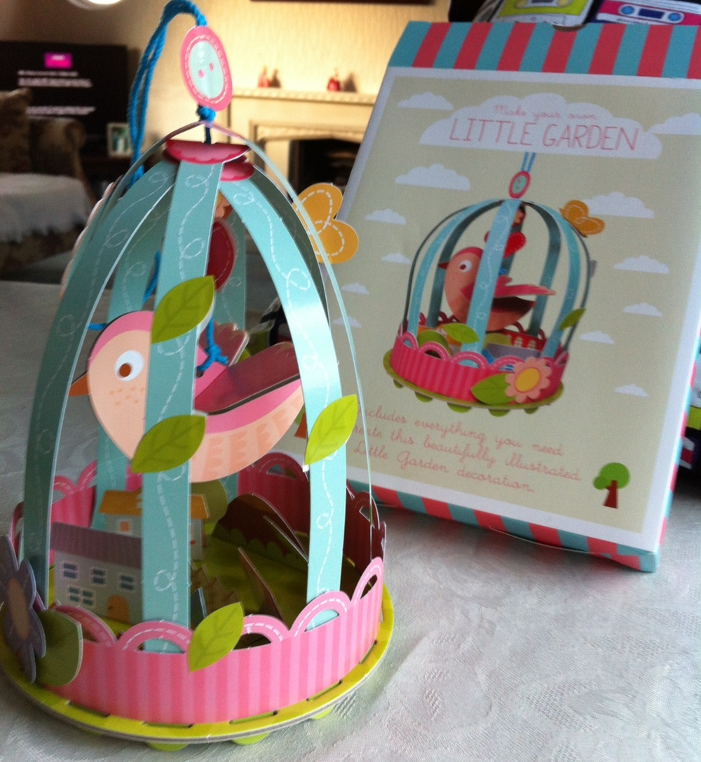 Make Your Own Twee Bird Cage Garden Craft, from Past Times