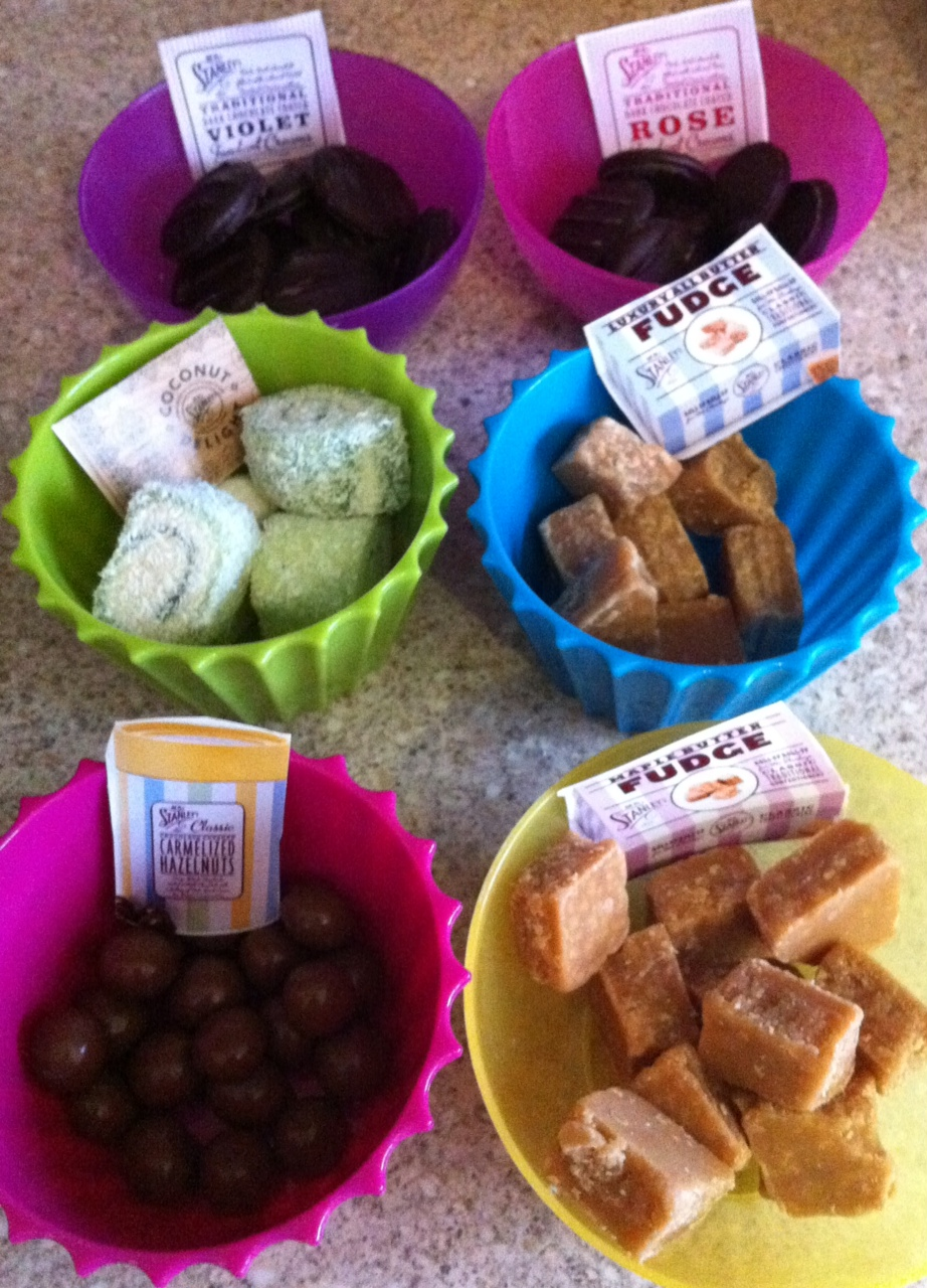 Afternoon Delights from Mr Stanley's Classic Confectionery get the The Three Generation Taste Test