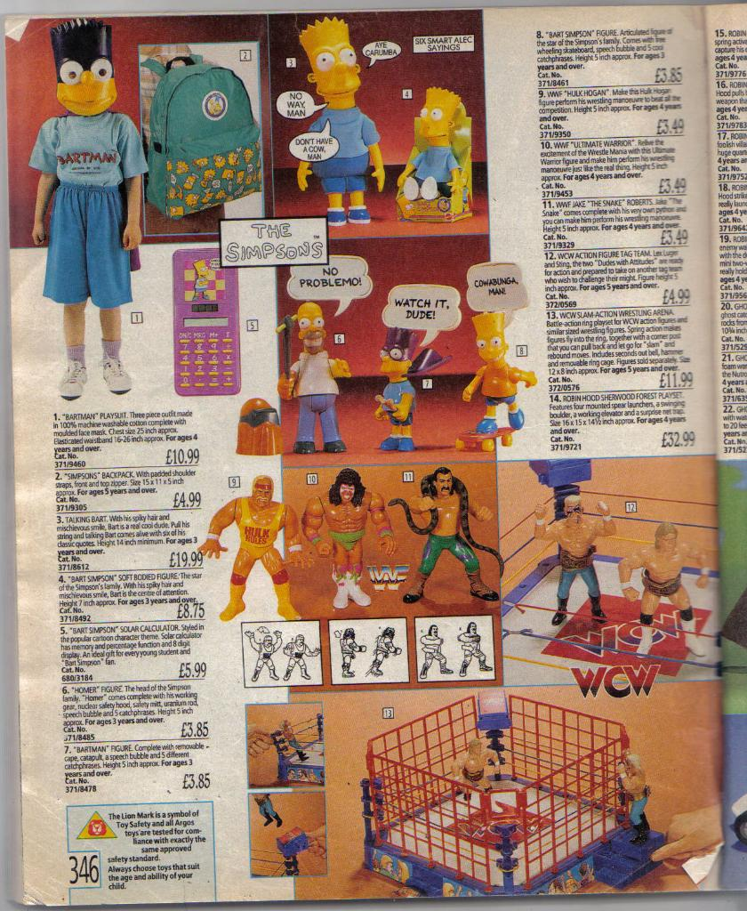 Toy Pages From The 1991 Argos Catalogue The World Of Kitsch