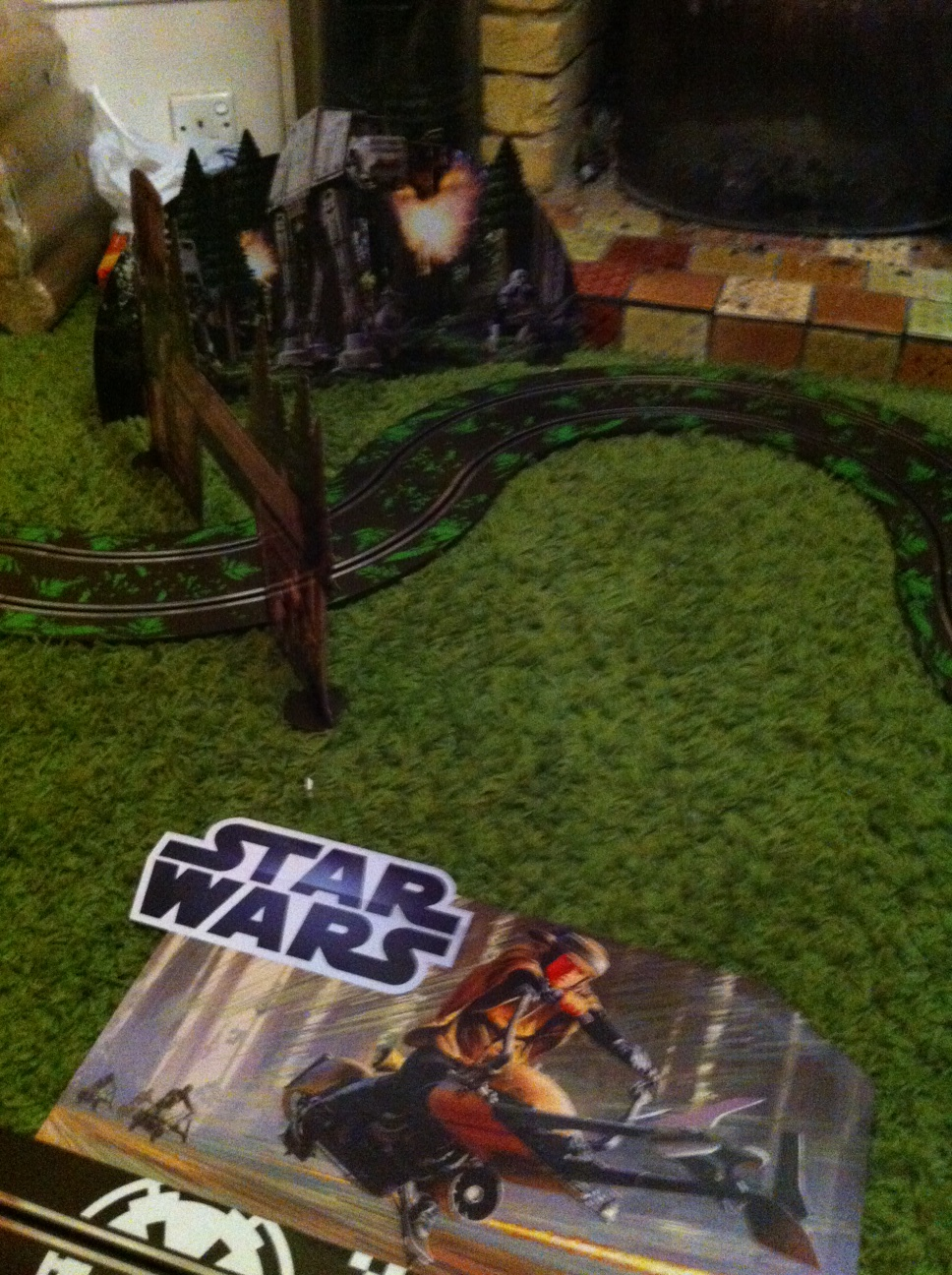 Star Wars Endor Scalextric Set
