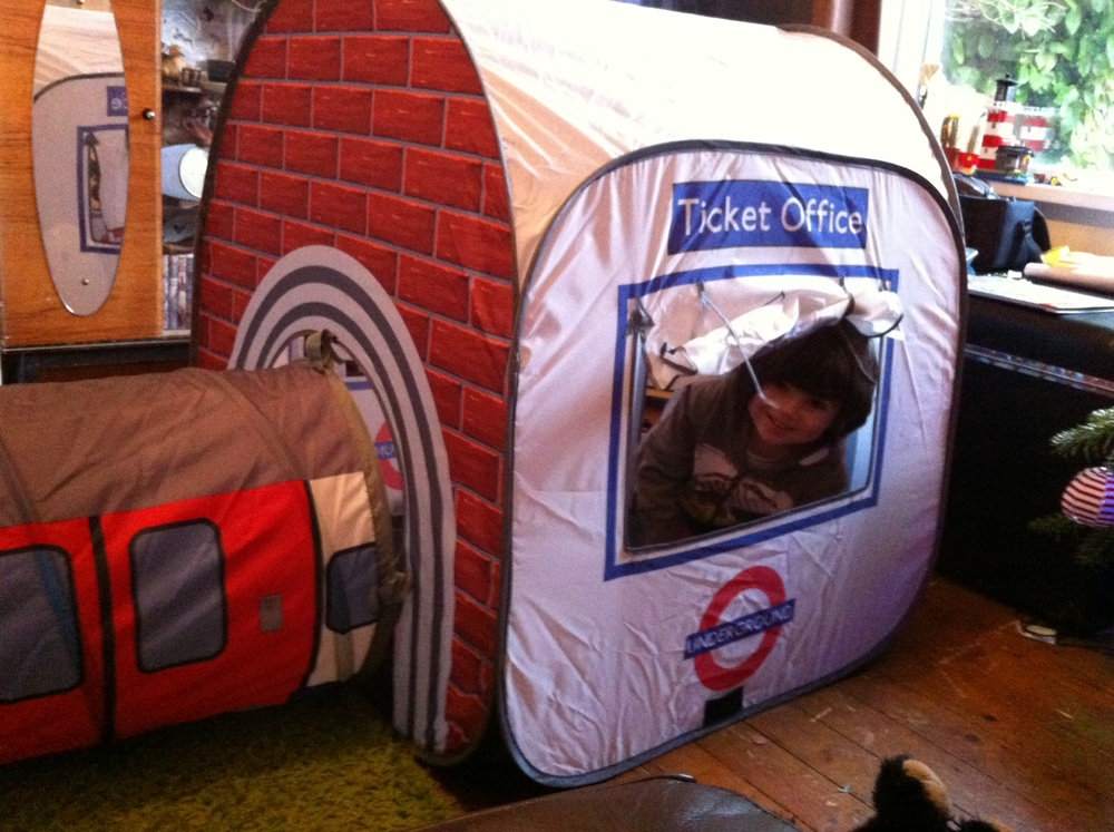 London Underground Train & Station Tent from Monster Factory