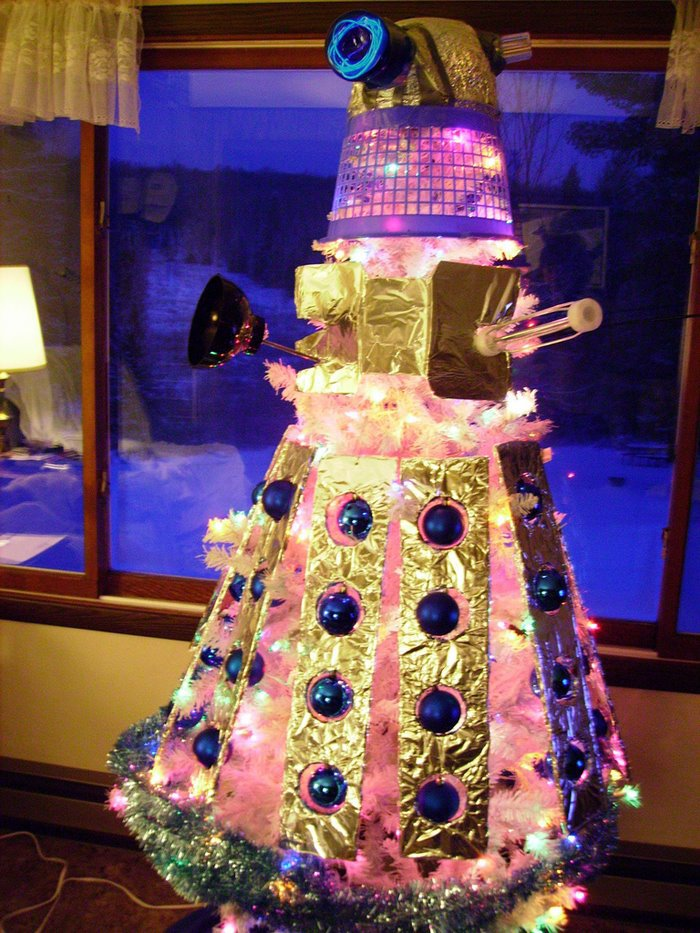 Dalek Christmas Trees