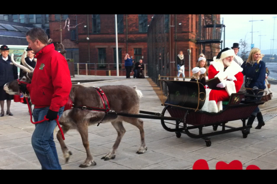 Titanic Belfast's Victorian Christmas Wonderland