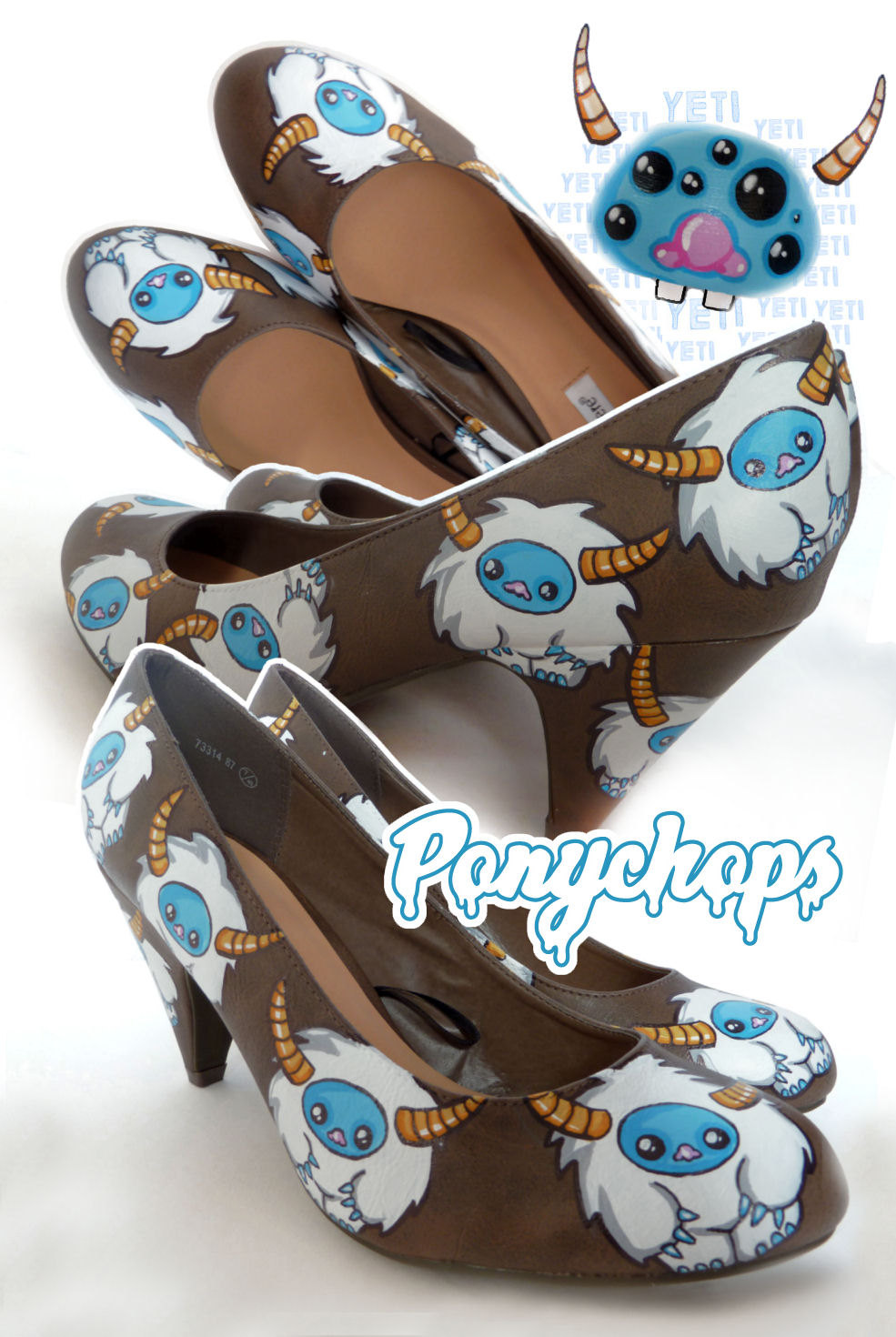 Pony Chops' Whimsical World of Shoes